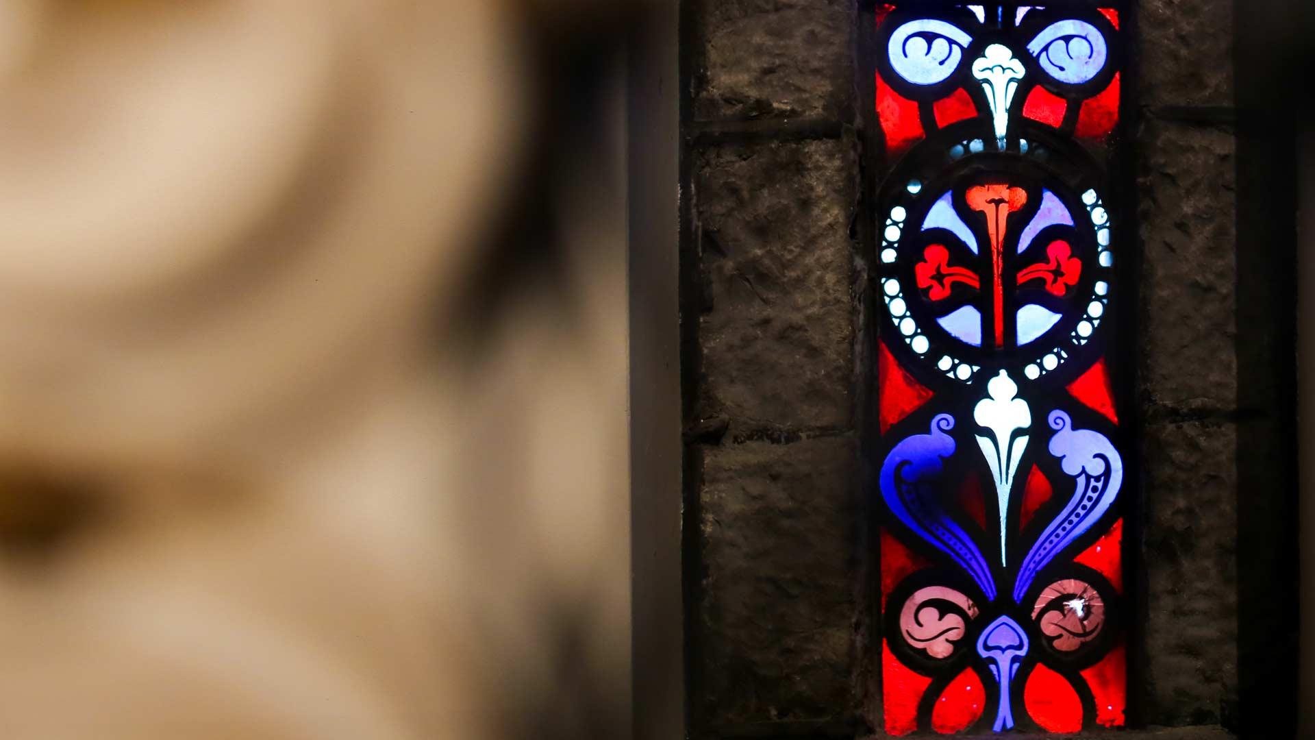 Detal wewnątrz kocioała St Ignatius