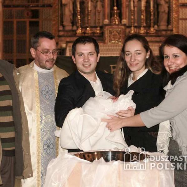 Chrzest Marii